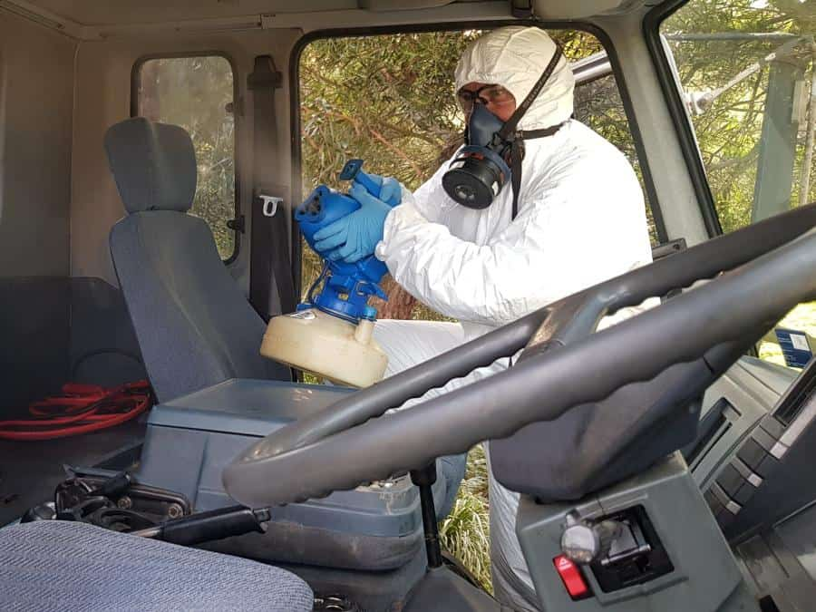 Truck Disinfection Services