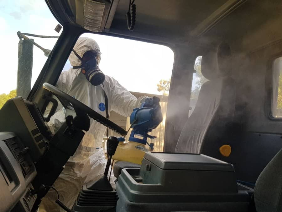Truck Sanitising Services