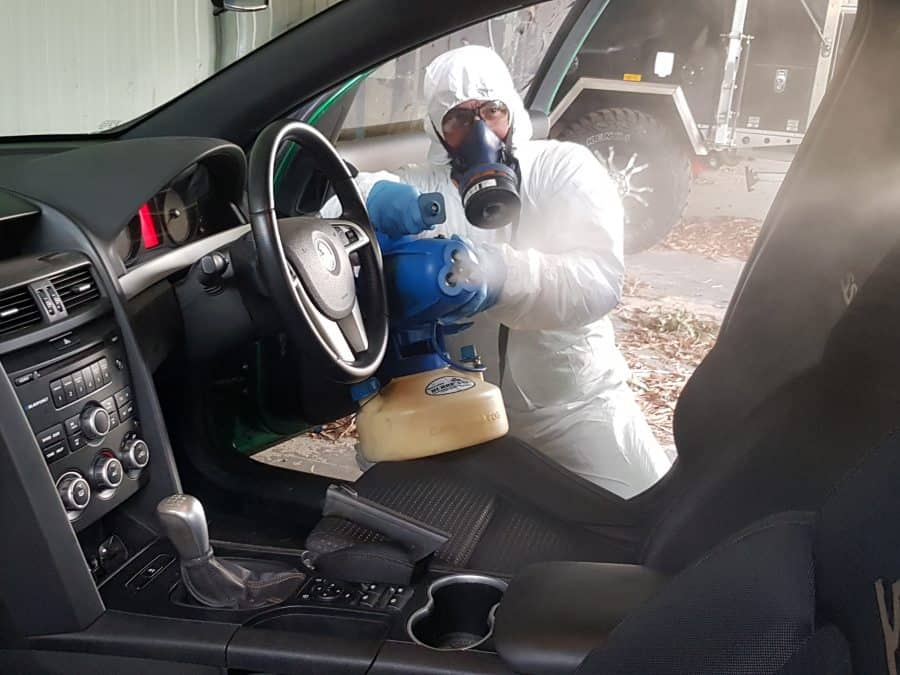 Vehicle Sanitising Services